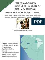 Caracteristicas Clinico Epidemiologicas de Brote de Influenza