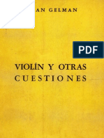 Gelman Juan - Violin Y Otras Cuestiones