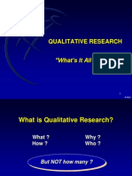 Why Qualitative