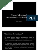 Unidad 7 El surgimiento del sindicalismo en Norteamérica - Daniel Llano Parra