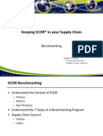 SCOR Benchmarking - Presentation