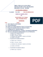 Cce Training Module Vi to Viii Mathematics1