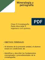 Clase 9 Cristalografía
