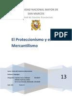El Mercantilismo y El Proteccionismo de Haquegua