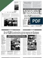 Versión impresa del periódico El mexiquense  17 julio 2013