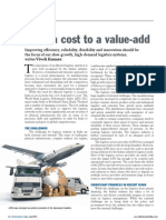 From a cost to a value-add