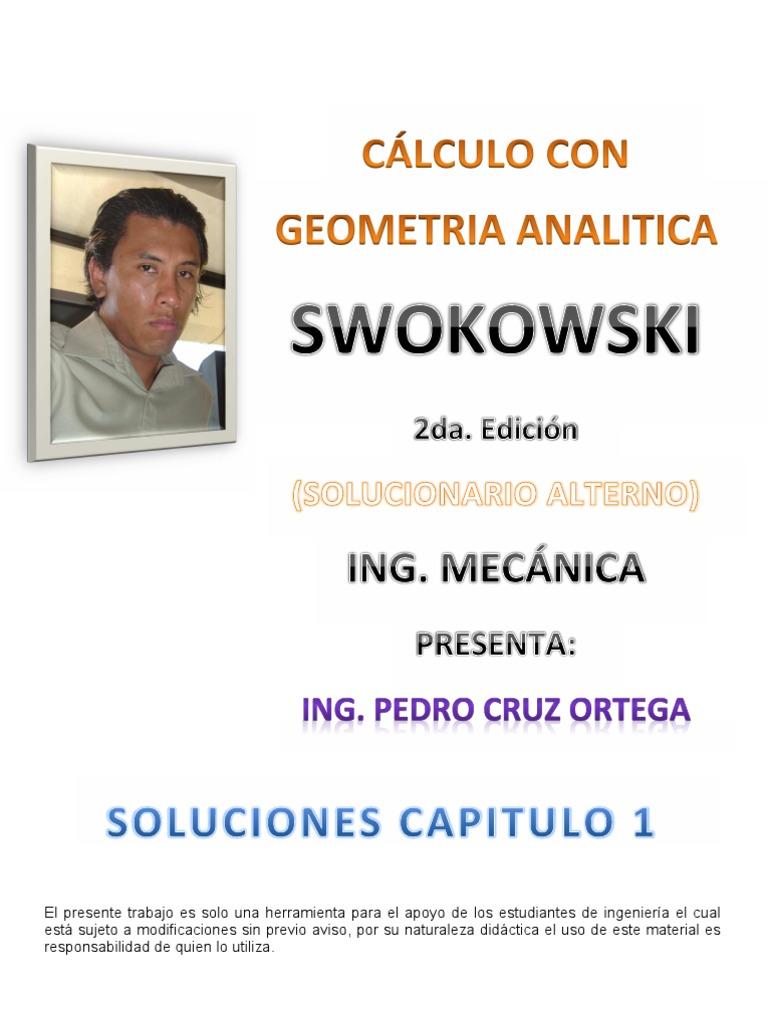 solucionario de swokowski gratis