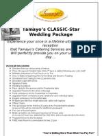 Tamayos Classic Star Wedding 2013