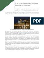 Europe's Road to Entrepreneurship and SME Growth by David Drake