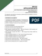 Electrostatic Discharge Sensitivity Measurement