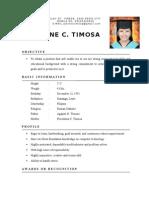 JanineCTimosa CV