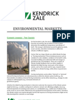 Environmental Markets | Kendrick-Zale Ltd