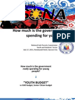Youth Budget Initial Data (2013)
