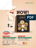 Indian Restaurant Congress 2013