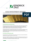 Gold Investment Report | Kendrick-Zale Ltd