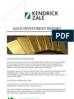 Gold Investment Report | Kendrick-Zale Ltd