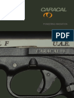 User Manual for caracal pistol