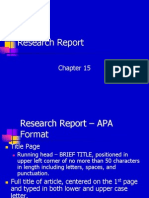 Research Lecture8 Research Report