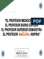 Frase Profesor