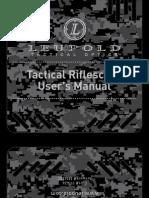 Tactical Scope Manual