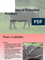 03d the Importance of Watershed Projects in India