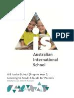ais junior school parent reading guide 2013