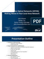 Gigabit Passive Optical Networks