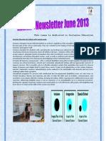 AIKYA Newsletter June2013