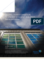 Driving Transformation to Energy Efficient Buildings, Johnson Controls, Low-res Final