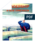 Leadership-A New Dimension