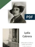 Lydia Cabrera