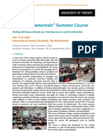Training Two Week TRIZ Fundamentals 2013 Brochure