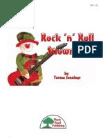 Rock n Roll Snowman