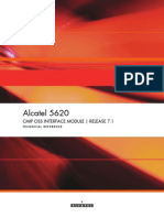 Alcate 5620 CMIP OSS Interface Module Release 7.1 Technical Reference