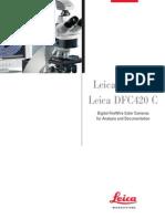 Leica DFC420 DFC420C Brochure En