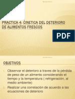 Practica 4 Cinetica Del Deterioro de Alimentos Frescos