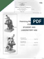 Zeiss Polarizing Microscopes Student 1978