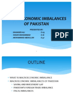 Macroeconomic Imbalances of Pakistan 3rd
