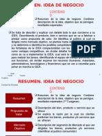 Explicacion IDEA NEGOCIO