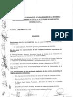 Acuerdo Digitex Atrasos Contact Center 2009/02/09
