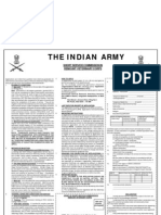 Indian Army SSC Remount Veterinary Corps