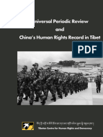 Universal Periodic Review & China's Human Rights Record in Tibet