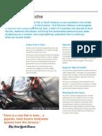 Amazone Paiche Info Sheet