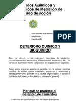 Métodos Químicos y Bioquímicos de Medición de grado