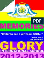 Glory Yearbook 2012-2013