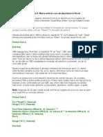 VBA Pentru Excel Lectia 5