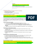 HHD SAC 2A Summary Notes for Study