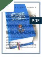 titulo 1 CONSTITUCIÓN DE LA REPÚBLICA BOLIVARIANA DE VENEZUELA