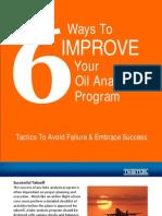 Six Ways to Improve Your Oil Analysis Program