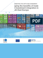 Reaping the Benefits of Trade and Investment Integration in South East Europe
